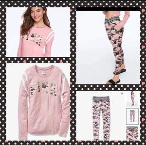 2 Pc VS Pink Camo Set